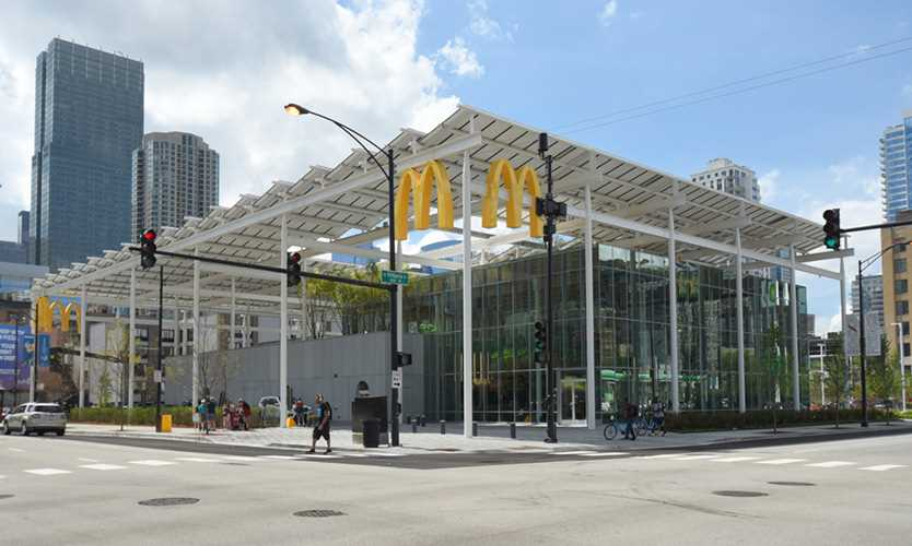 McDonald's flagship Chicago restaurant