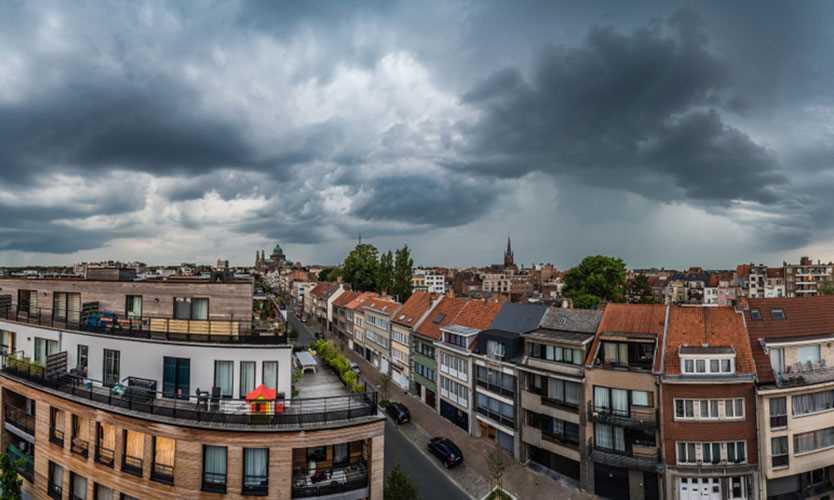 European thunderstorm