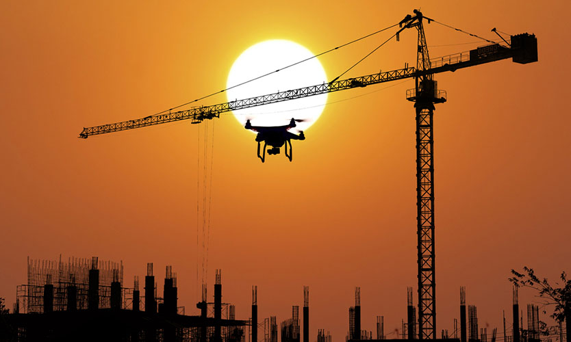 Drones on construction sites introduce new risks