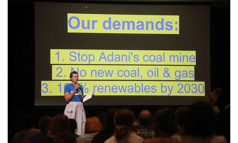 Climate election, Our Demands, Brisbane, Australia, March 25, 2019