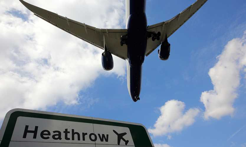 Great Britain's Heathrow Airport