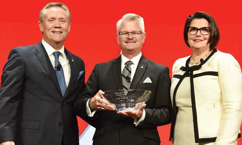 Clark receives Goodell; Nickel named Risk Manager of the Year