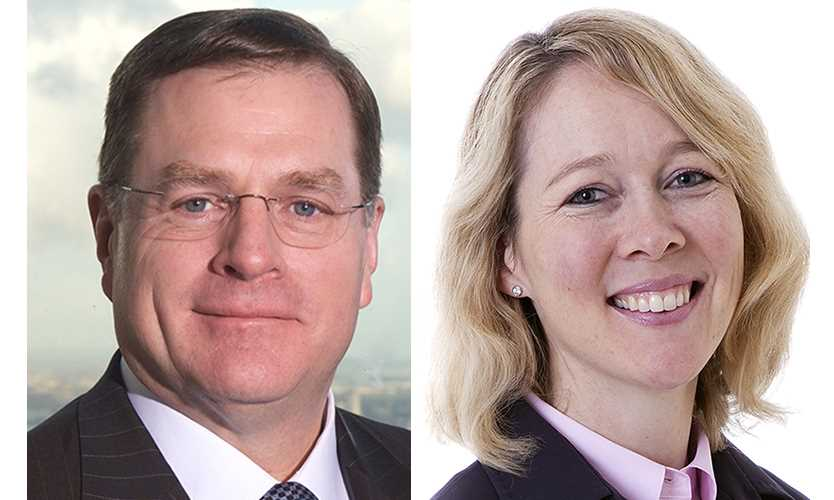 Top Aon execs Greg Case Christa Davies sign on for another three years