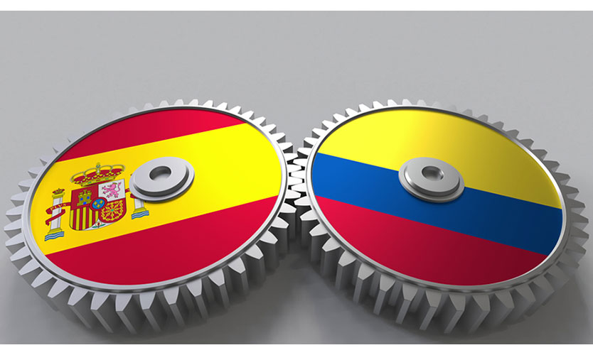 Spain Colombia
