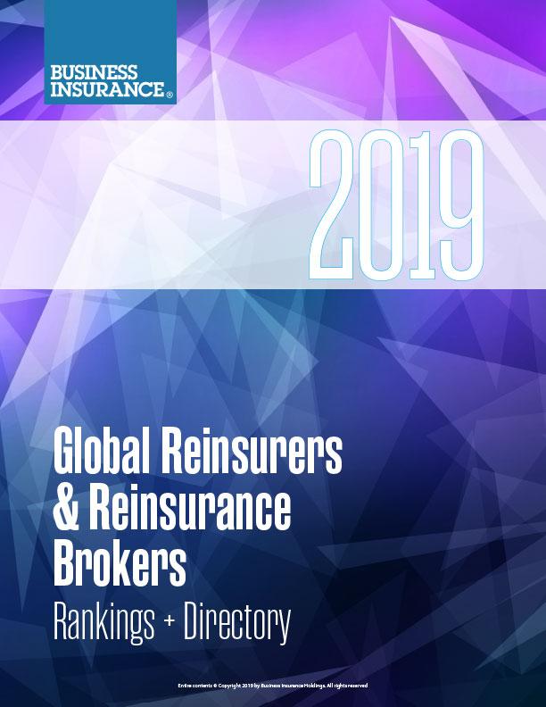 GLOBAL REINSURERS AND REINSURANCE BROKERS RANKINGS + DIRECTORY