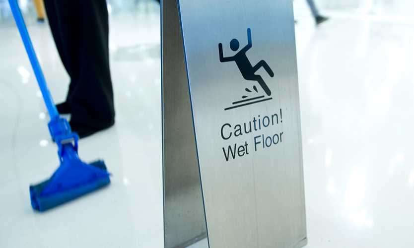 Retailers wrestle with slip and fall risk management