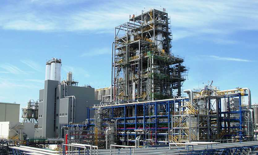 Hanwha Total Petrochemicals Daesan plant in Seosan, South Korea