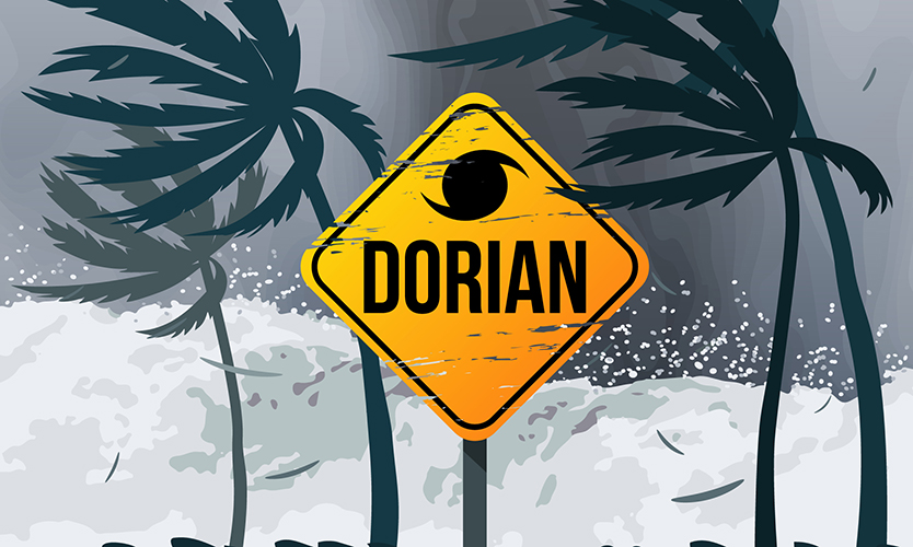 Around 50% of hurricane Dorian-hit businesses not fully insured