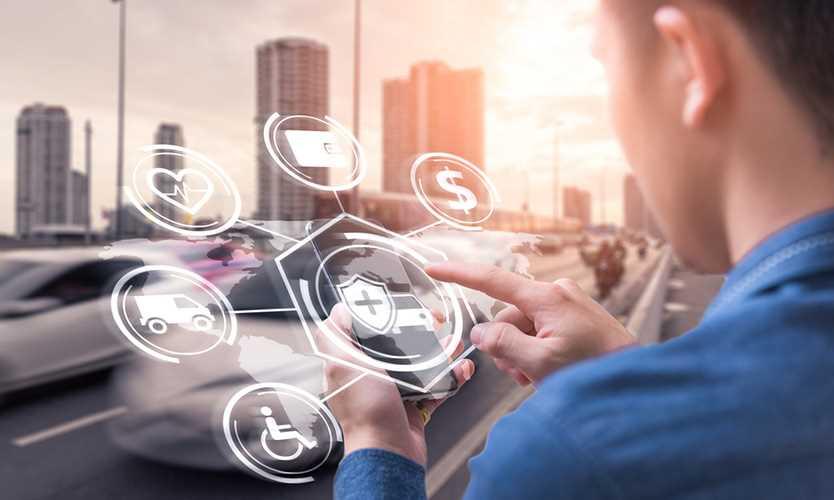 Digital insurance broker platform