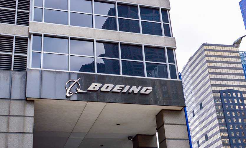 Boeing headquarters in Chicago
