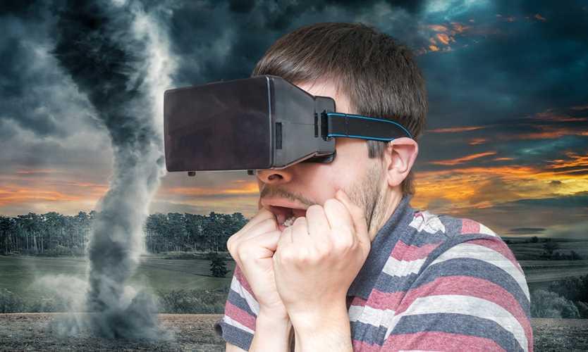 Virtual reality tornado experience raises awareness of wind perils