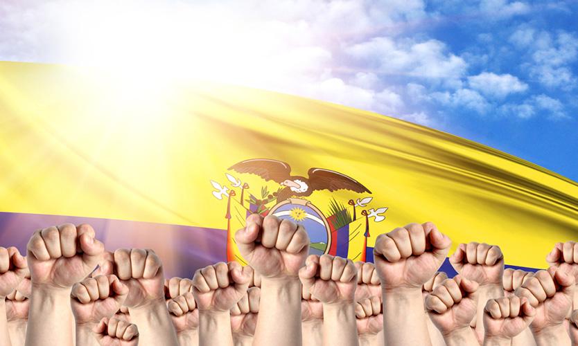 Ecuador labor strike