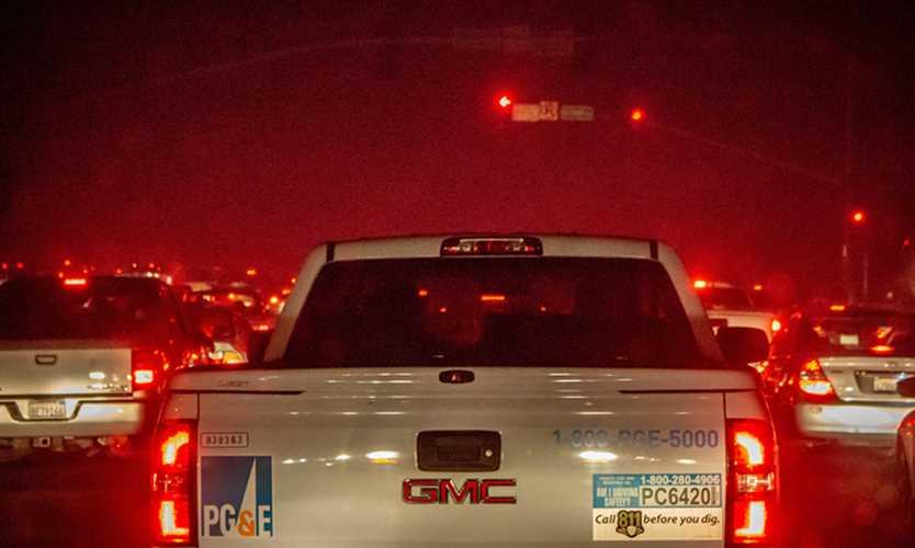 California Camp Fire PG&E