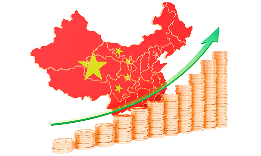 China financial growth