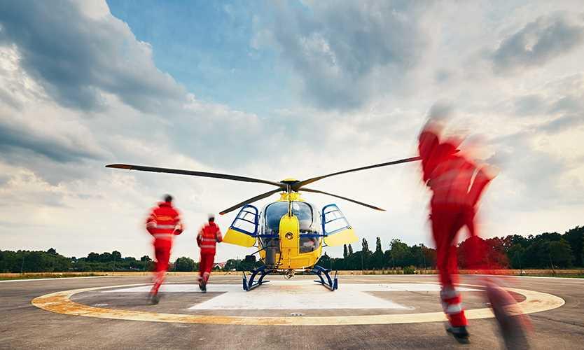 Costly air ambulances burden comp system