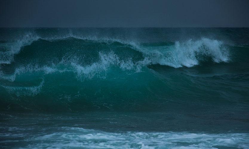 Mediterranean Sea storm