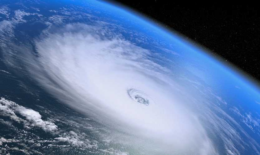 Warmer oceans larger hurricanes would add to coastal property risks