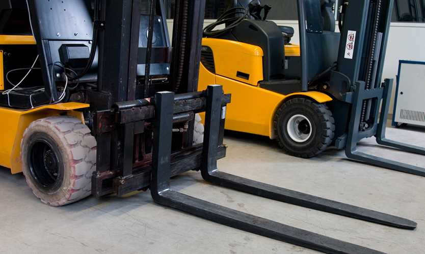 Citation related to fall from forklift affirmed